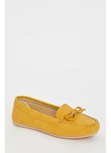 DeFacto Bağcıklı Loafer Ayakkabı Kahve